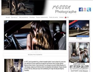Ressan photographe, site du photographe intimiste